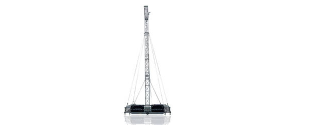 FLYINTOWER 13-2.000 - Torre PA Verticale (h13m, SWL2.000kg)